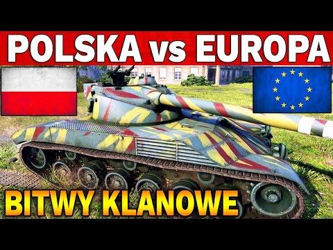 POLSKA vs EUROPA - G100 vs OMNI - Bitwy Klanowe - World of Tanks