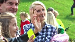 Akcja Kilometry Pomocy nad jeziorem Ukiel w Olsztynie z Michelin Polska