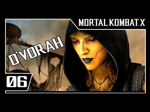 MORTAL KOMBAT X - Modo História Parte #6 - D' VORAH  - Dublado [1080p 60fps]