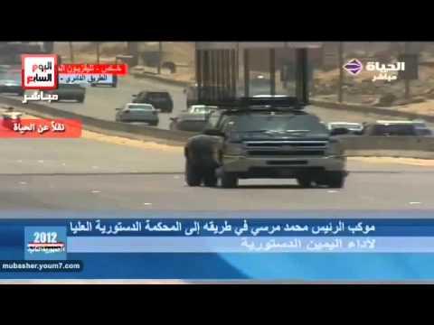 new egyptian president motorcade.flv
