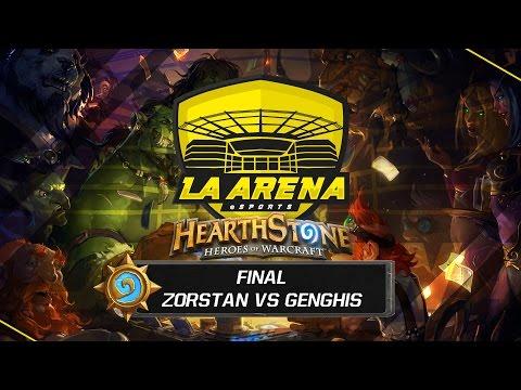 Genghis vs Zorstan | Final Tavern Hero | La Arena eSports Madrid
