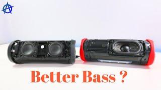 JBL Flip 4 and Flip 5 teardown and Bass Test