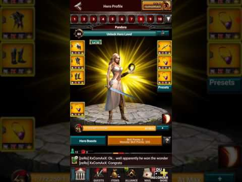 Game of War New VIP 40 One Click Preset!