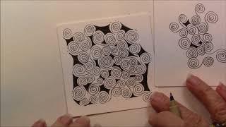Ibex Tangle Lesson Pattern # 211