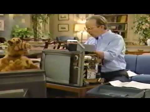 ALF: ALF Almost Kills Willie With The TV Set (VHS Rip)