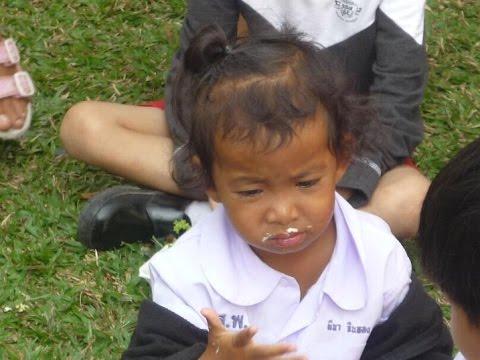Besuch im Orphanage Pattaya