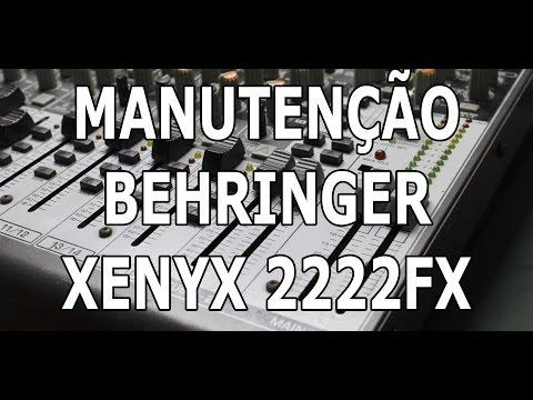 Mesa de Som Behringuer 2222FX - Manutenção -...