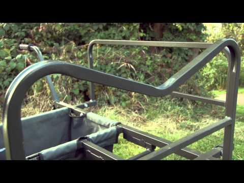 New Saber Tackle All Track Multi Wheel Barrow 4 Carp Fishing