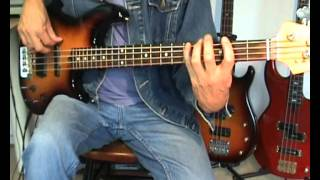 Tom Petty And The Heartbreakers - Refugee - Bass Cover