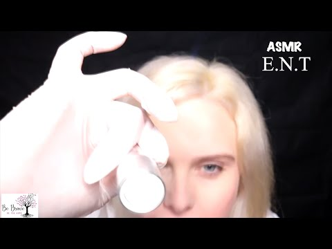 [ASMR] Medical: E.N.T Exam Roleplay - Up Close Personal Attention, Light & Latex Gloves