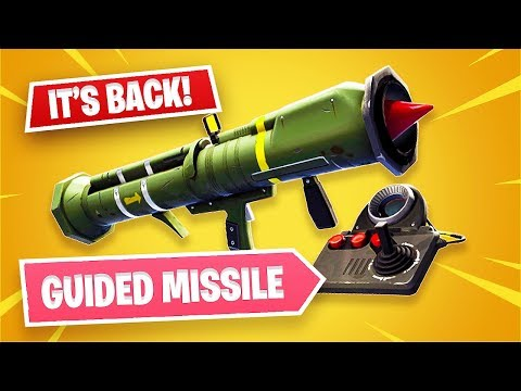NEW Guided Missile Update!! (Fortnite Battle Royale)