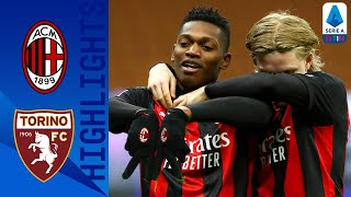 Milan 2-0 Torino | Milan Go Four Points Clear At The Top Of The Table | Serie A TIM