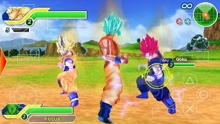 Dragon Ball Tenkaichi Tag-Team PSP Gameplay | Spirit Gaming |