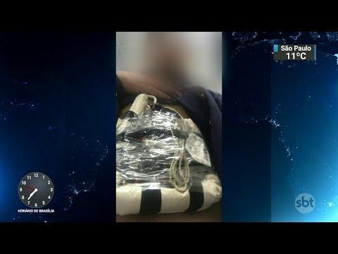 Gerente de banco é mantido refém por assaltantes no Pará | SBT Brasil (11/07/18)