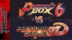 Pandora Box 6 vs Pandora Games 3D   The Best vs. The Best