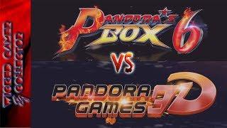 Pandora Box 6 vs Pandora Games 3D | The Best vs. The Best