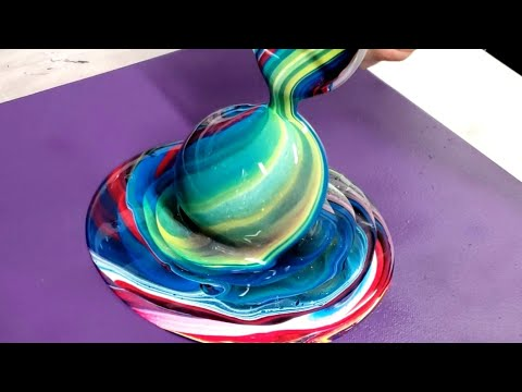 Fluid Painting 3D Technique (inspired By Wigglz Art)