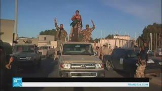 احتفالات باستعادة السيطرة على مدينة سرت الليبية
