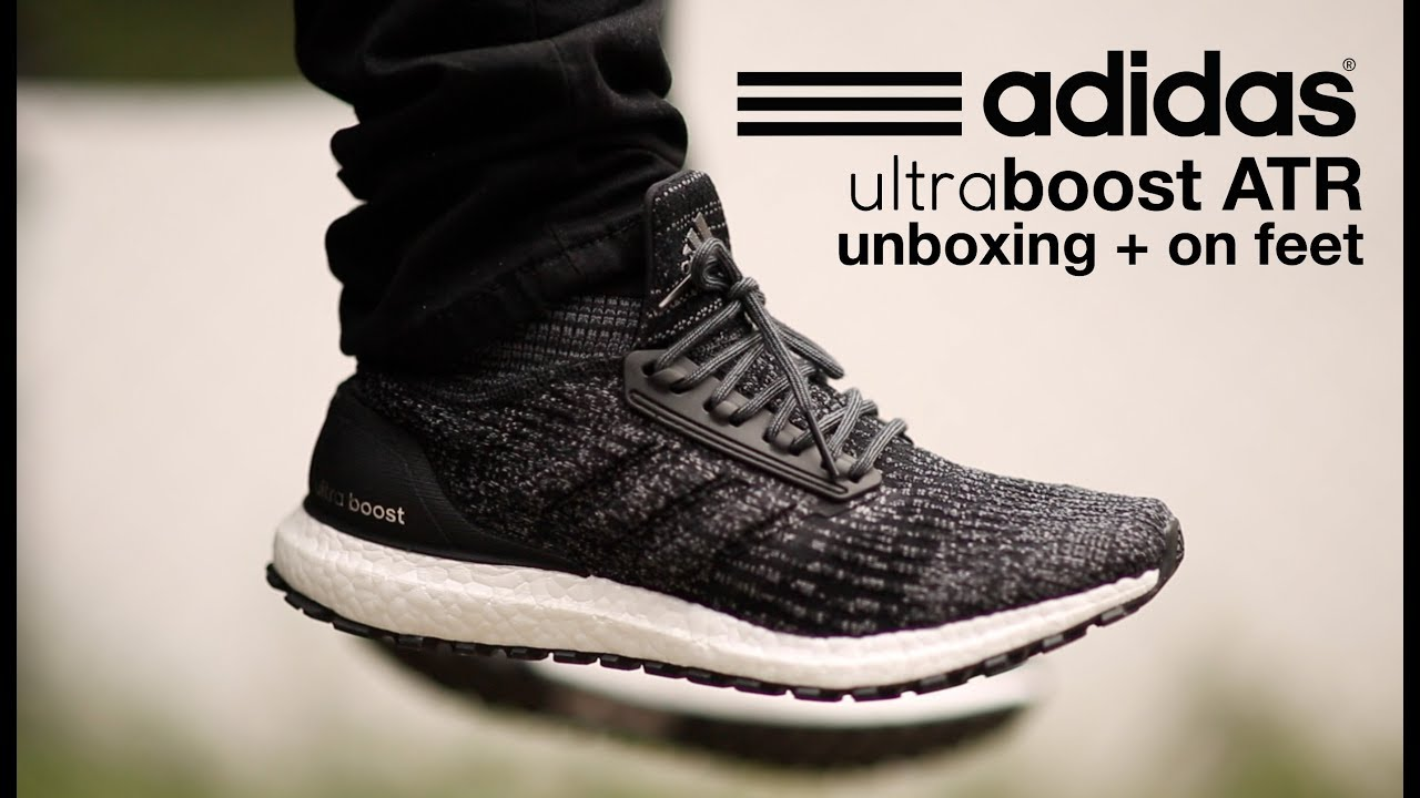 059919fea32bb Adidas Ultra Boost  ATR Mid  Unboxing + On Feet - YouTube