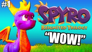 IT'S FINALLY HERE! Spyro the Dragon Part 1   Spyro The Reignited Trilogy Gameplay