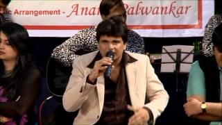 """Anand Palwankar performing """" woh sham kuch ajeeb """""""