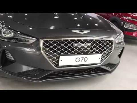 2018 Genesis G70 Brand New Dealer Walkaround Korea