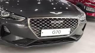 2018 Genesis G70 ** Brand New ** Dealer Walkaround ** Korea