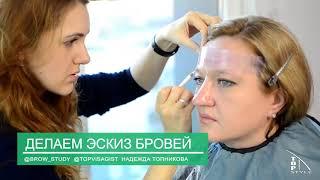 Обучение по бровям спб, курсы бровистов