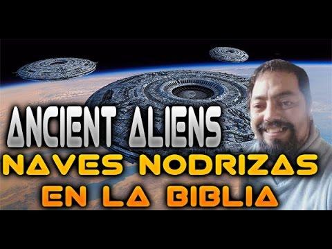 Ancient Aliens , NAVES NODRIZAS Y CIUDADES VOLADORAS EN LA BIBLIA | Misteriosaldes