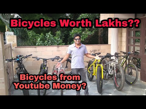 Most expensive Bike collection in India? | What is my Youtube Income?