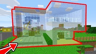 ISMETRG'NİN EVİ GÖRÜNMEZ OLDU! 😱 - Minecraft