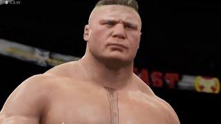 WWE2k16 : Ladder Triple Threat Match