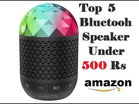 Top 5 Bluetooth Speaker Under 500 In Amazon Youtube