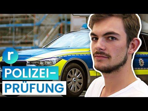 Polizei-Ausbildung: So Hart Ist Der Einstellungstest   Reporter