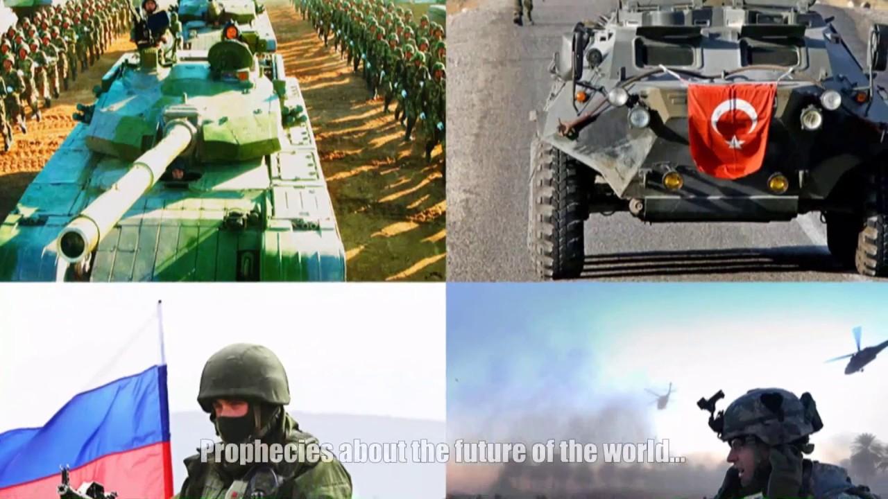 Armageddon. The war will start soon. Prophecy Elder Paisios
