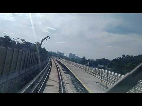 Kuala Lumpur MRT new line...