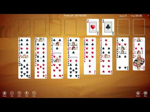 Play FreeCell Solitaire with Solitaire Collection Free!