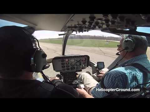 Bell Jet Ranger 206 Lift To Hover & Normal Take Off