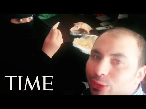 Man Arrested In Saudi Arabia After Viral Video Of Him Having Breakfast With A Woman   TIME