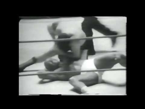 Woody Strode vs Eric Pomeroy Stan Vachon, Pulaski 1960s Buffalo professional wreslting