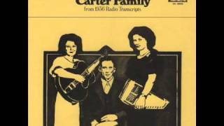 The Carter Family-Little Darling Pal Of Mine 1936 Radio Transcription