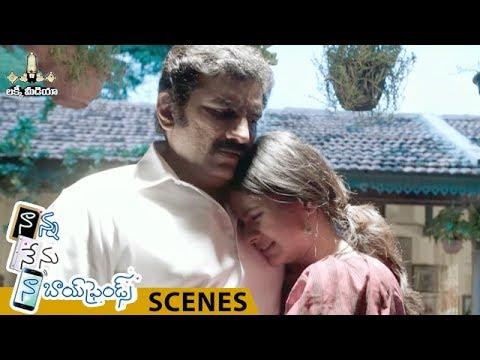 Rao Ramesh and Hebah Patel Emotional Scene | Nanna Nenu Naa Boyfriends Movie | Tejaswi Madivada