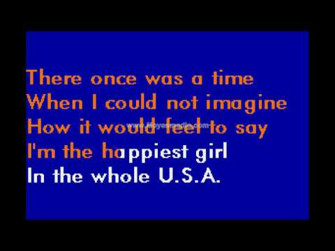 Donna Fargo   Happiest Girl In The Whole USA MH HD Karaoke PK02530