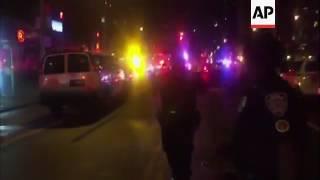 Many hurt in possible blast in NY neighbourhood