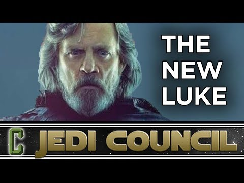 The Last Jedi: New Luke Skywalker Images Revealed