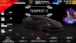 Csr2 Best Tier 4 Car For Tempest 3 This will most likely be