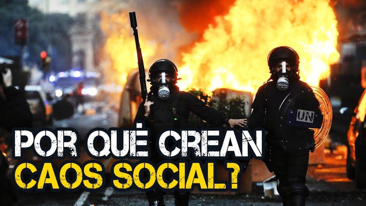 Por Qué Crean Caos Social? - YouTube
