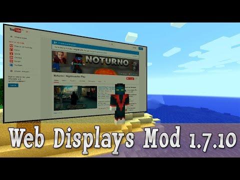 Web Displays - интернет в майнкрафте [||]