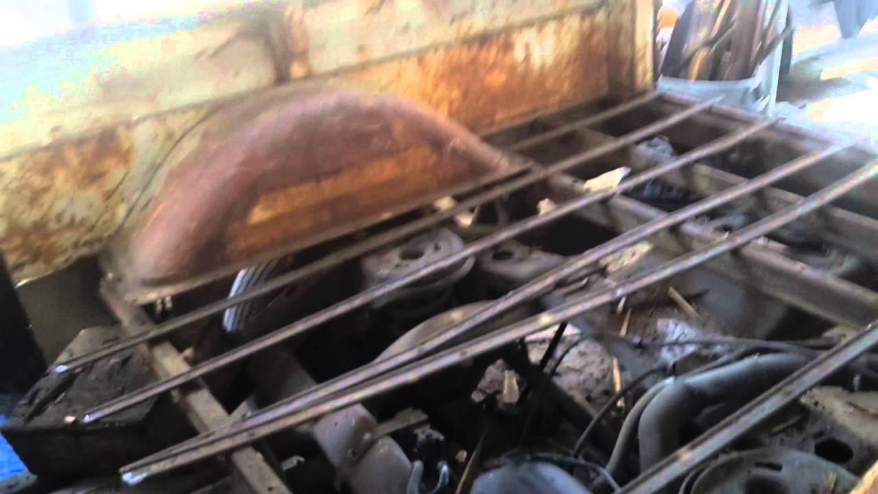 1964 Chevy C10 Bed Cut Youtube