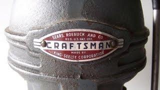 Craftsman King-seeley Drill Press